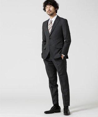 【WEB限定】スーツ+バーズアイ+スタンダード+グレー