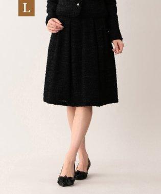 【L】【Platine】ファンシーツイードスカート