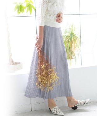 リッチプリーツスカート