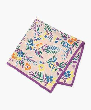 manipuri FLOWER プリントカレスカーフ