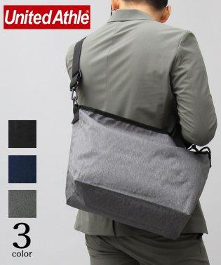 【UnitedAthle】600Dポリエステルショルダーバッグ/ナイロンメッセンジャーバッグ