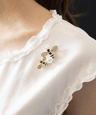 【WEB限定】【Tricolore】Bee ブローチ