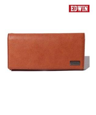 【EDWIN】エドウィンダークメタルプレート長財布