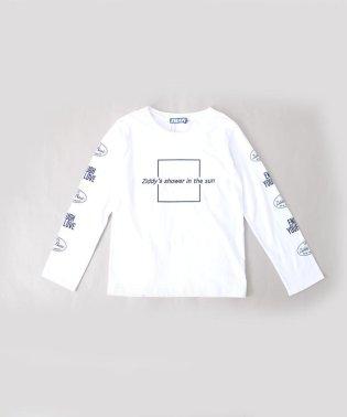 【カタログ掲載】天竺袖ロゴプリント長袖Tシャツ