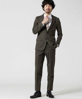 【WEB限定】スーツ+ジャージストレッチ+スタンダード+グレー