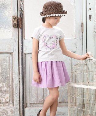 カルゼワッシャーギャザースカート