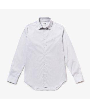 イタリアンコットンポプリンミニチェックシャツ