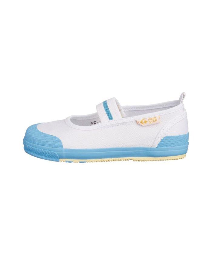 (moonstar/ムーンスター)ムーンスター キャロット 上履き 上靴 スクール 男の子 女の子 室内履き TKHS−CR11/キッズ サックス