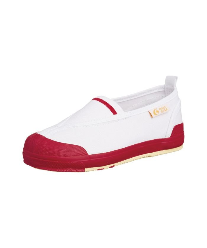 (moonstar/ムーンスター)ムーンスター キャロット 上履き 上靴 スクール 男の子 女の子 室内履き TKHS−CR12/キッズ レッド