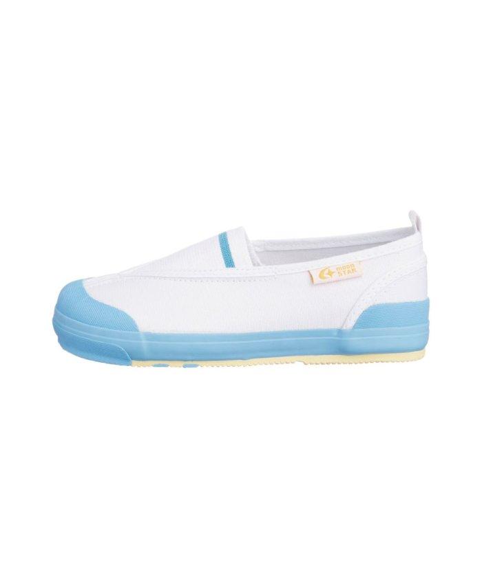 (moonstar/ムーンスター)ムーンスター キャロット 上履き 上靴 スクール 男の子 女の子 室内履き TKHS−CR12/キッズ サックス