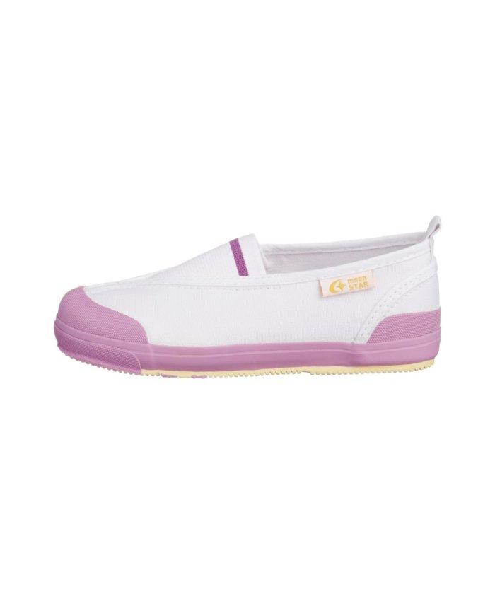 (moonstar/ムーンスター)ムーンスター キャロット 上履き 上靴 スクール 男の子 女の子 室内履き TKHS−CR12/キッズ ピンク