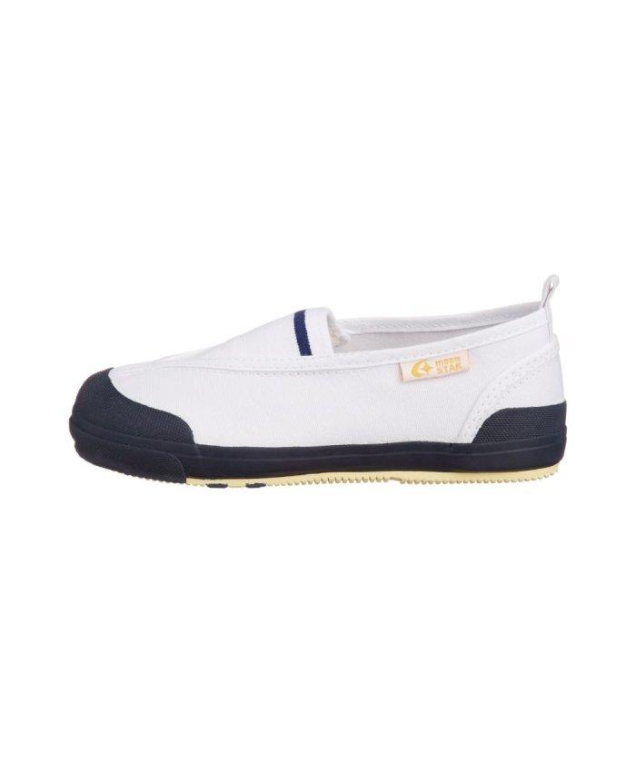 (moonstar/ムーンスター)ムーンスター キャロット 上履き 上靴 スクール 男の子 女の子 室内履き TKHS−CR12/キッズ ネイビー