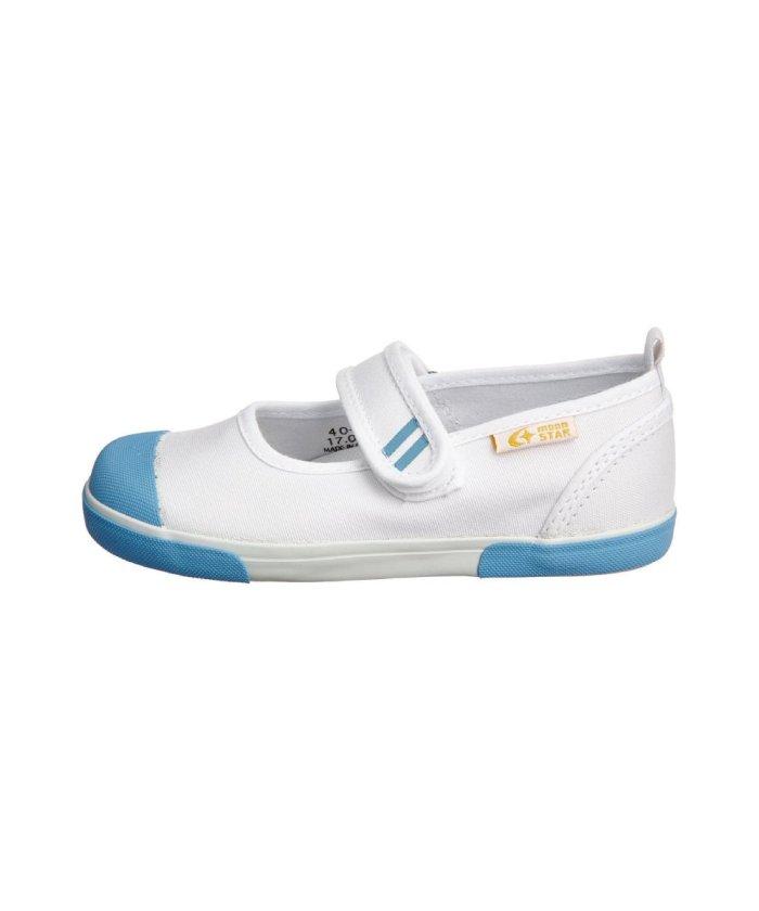 (moonstar/ムーンスター)ムーンスター キャロット 上履き 上靴 スクール 男の子 女の子 室内履き TKHS−CR13/キッズ サックス