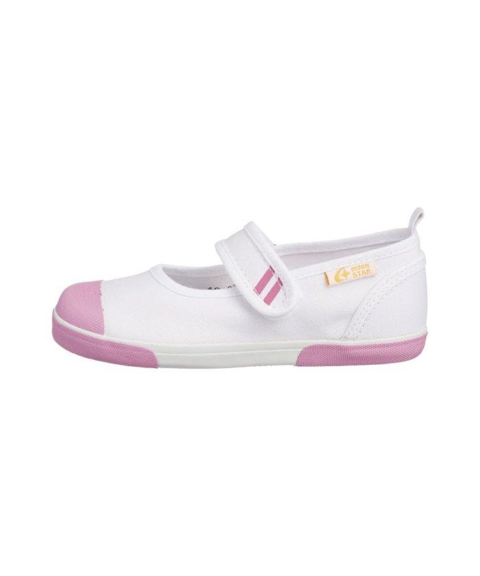 (moonstar/ムーンスター)ムーンスター キャロット 上履き 上靴 スクール 男の子 女の子 室内履き TKHS−CR13/キッズ ピンク
