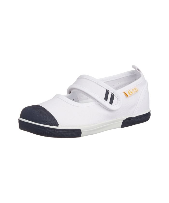 (moonstar/ムーンスター)ムーンスター キャロット 上履き 上靴 スクール 男の子 女の子 室内履き TKHS−CR13/キッズ ネイビー