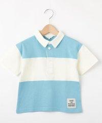【110cm~150cm】ラガーシャツ風ポロシャツ