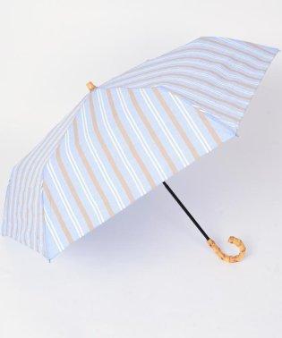 マルチストライプ SHORT 晴雨傘◇