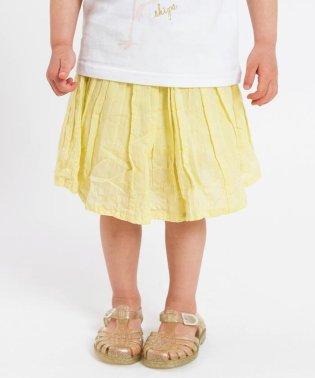 SHIPS KIDS:<インナーショーツ付き>ギャザー ベビー スカート(80~90cm)