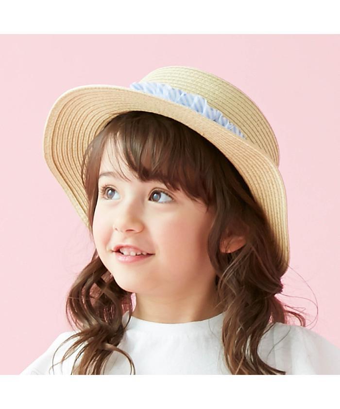 フリルカンカン帽