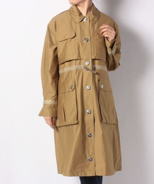 W REFINED GARDEN TRENCH COAT