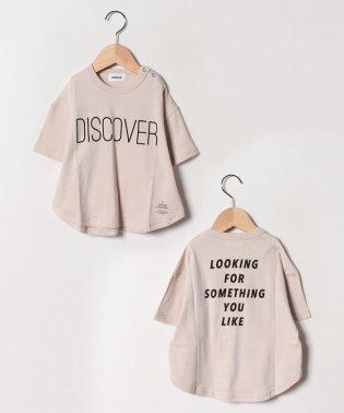 ビッグプリントTシャツ