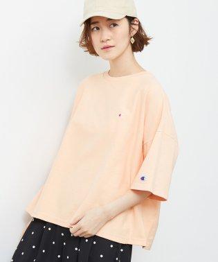 【Champion】ハーフスリーブTシャツ