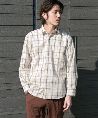 イージーケアストライプ/チェックシャツ
