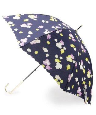 Wpc. 晴雨兼用フラワー柄長傘