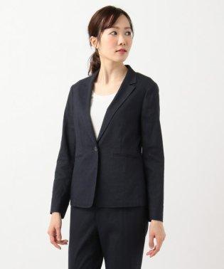 【マガジン掲載】リネンヴィスコースストレッチ テーラードジャケット