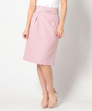 フリルベルトタイトスカート