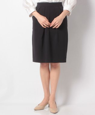 【SHIPS for women】WD:SETUP DOUBLE CLOTH TUCK SK