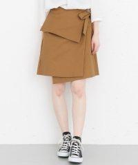 【KBF+】サイドリボン変形スカート