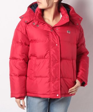 MIKAELA DOWN PUFFER CHINESE RED