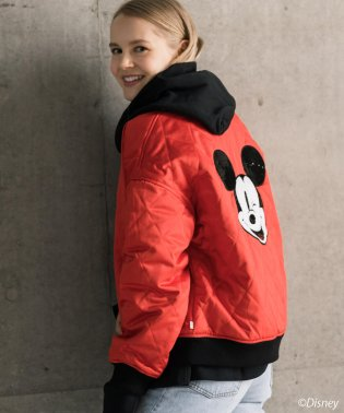 MICKEY BOMBER CHINESE RED
