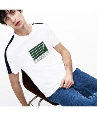 ノーティカルプリントクルーネックTシャツ