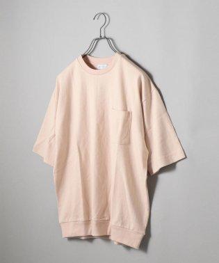 SHIPS JET BLUE: ニュアンスカラー リブビッグTシャツ