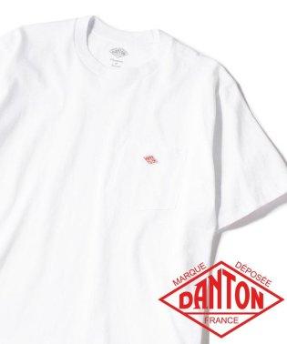 DANTON: ポケットTシャツ