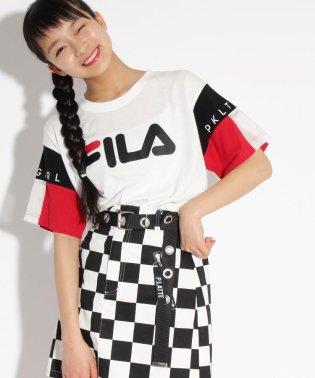 【FILA】袖切替 Tシャツ