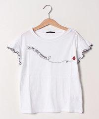 バグズプリントフリル半袖Tシャツ・カットソー