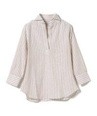 ORIAN / ロンドンストライプ スキッパーシャツ