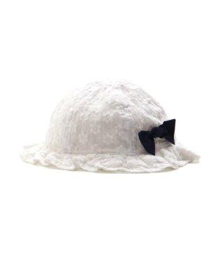 ベビーフリル帽子_UVカット