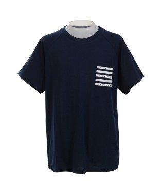 ヘム スポーツ/キッズ/ガールズ ポケットTシャツ
