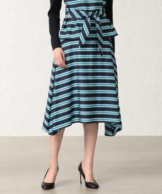 【ITALY FABRIC】ネオンボーダースカート