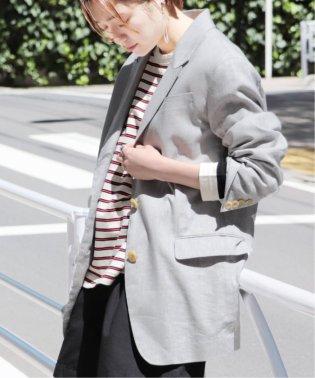 【NEU】リネンドビーピークドラペルジャケット◆