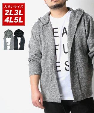 大きいサイズ カーディガン パーカー アンサンブル 半袖 Tシャツ セット