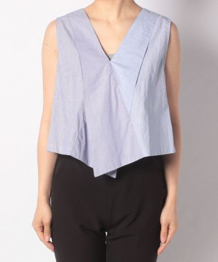 【SHIPS for women】RACHEL.C:SPLIT TOP
