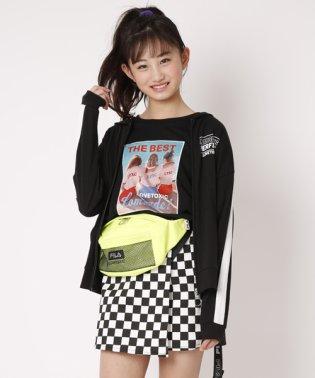 GIRL転写プリントTシャツ