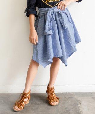 シャツ風スカート