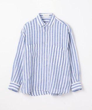 フレンチリネン オーバーサイズドシャツ