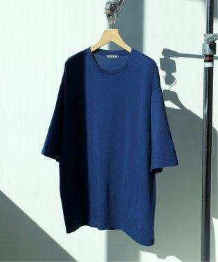 AURALEE×EDIFICE / オーラリー別注 シームレスクルーネックTシャツ
